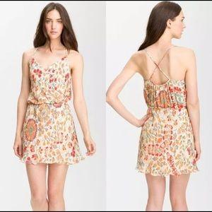 Haute Hippie 100% silk dress